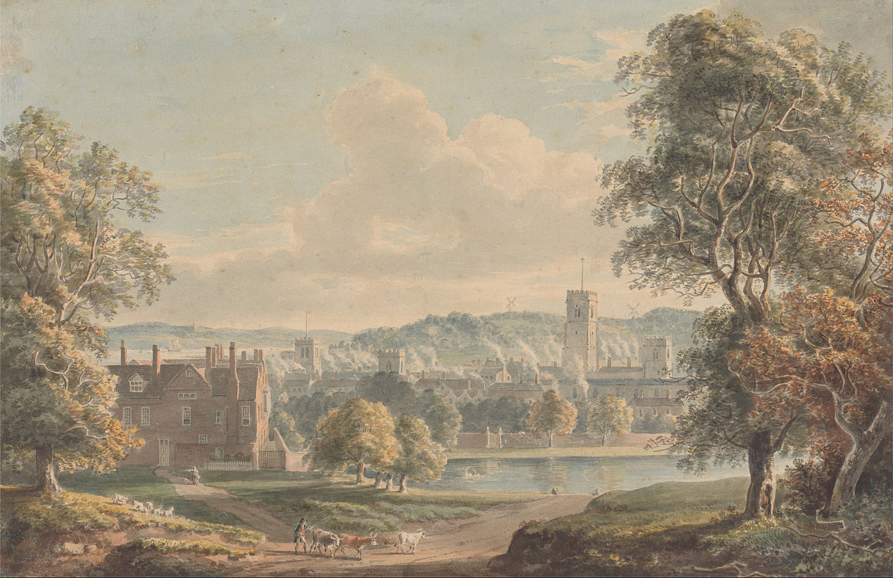 Paul Sandby - Ipswich from the Grounds of Christchurch Mansion - Google Art Project.jpg