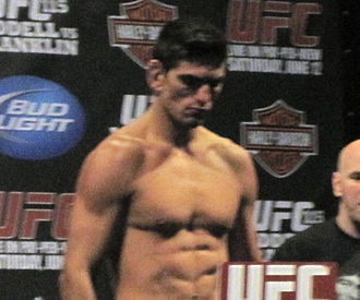 Paulo Thiago - Thiago on scale at the UFC 115 weigh-ins