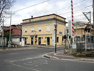 Pavona - Image: Pavona la stazione ferroviaria