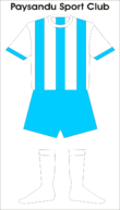 maillot traditionnel du Paysandu
