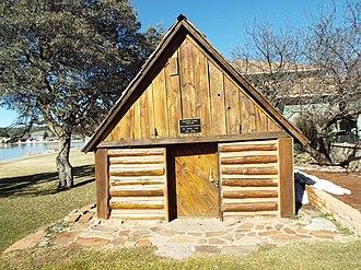 Payson, Arizona - Image: Payson Haught Cabin 1904 1