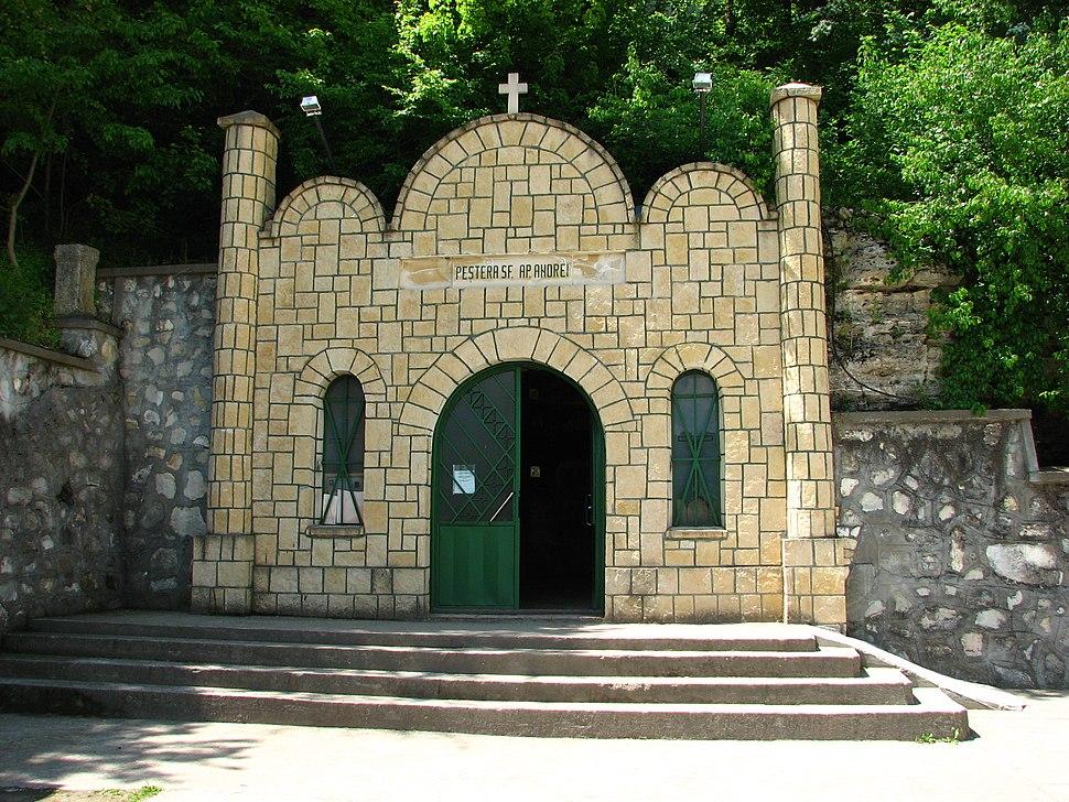 Peșterile Sf. Apostol Andrei - detalii 01