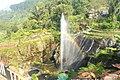 Penampkan Pelangi pada air mancur di Lokawisata Baturraden.jpg