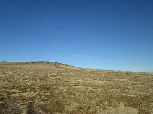 Pendle Way on its climb to Pendle Hill (geograph 3890008)