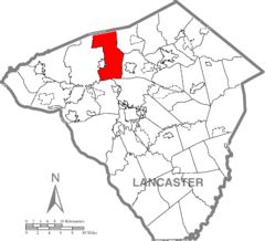 Penn Township, Lancaster County Highlighted.png