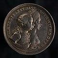 Penning op de ontvangst van Willem V en Wilhelmina van Pruisen te Amsterdam, objectnr 51611(1).JPG