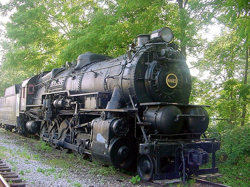 File:Pennsylvania Railroad Steam Locomotive -4483 (1).jpg