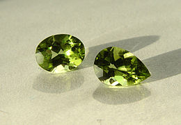 Peridot, the modern birthstone for August