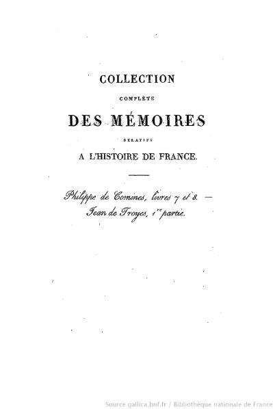 File:Petitot - Collection complète des mémoires relatifs à l'histoire de France, 1re série, tome 13.djvu