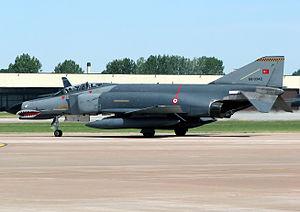 2012 Turkish F-4 Phantom shootdown - A Turkish Air Force F-4 Phantom II, similar to that shot down
