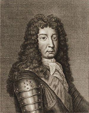 Philibert de Gramont - Engraved portrait of Philibert de Gramont
