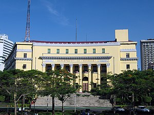 Philippine Department of Tourism in Manila, Ph...