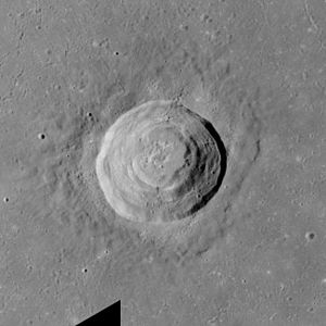Picard (crater) - Image: Picard crater AS17 M 0289