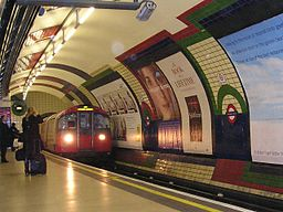 Piccadillycircus tube station