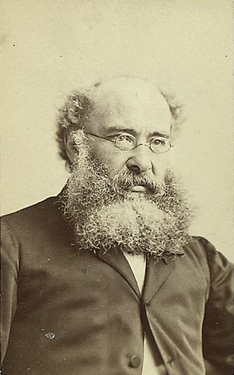 Anthony Trollope - Portrait of Anthony Trollope, by Napoleon Sarony