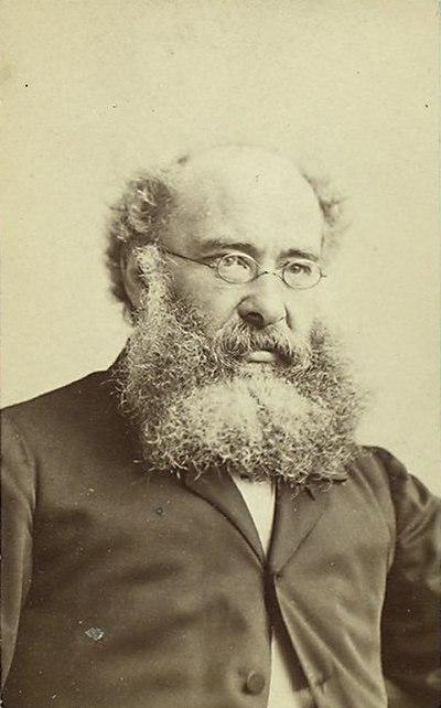 Anthony Trollope, English novelist (1815-1882)