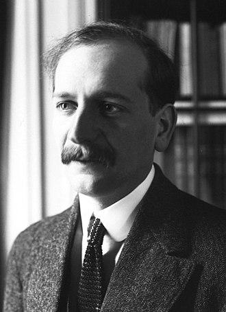 Deputy Prime Minister of France - Image: Pierre Étienne Flandin 1914