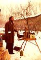Pintando en L´Olona. Italia. 1976..JPG