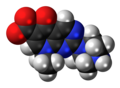 Pipemidic acid zwitterion spacefill.png