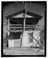 Pisgah National Forest Inn, Tree Top Cabin, Blue Ridge Parkway Milepost 408.6, Asheville, Buncombe County, NC HABS NC-356-C-5.tif