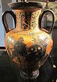 Pittore di antimenes, anforetta con eracle e il leone neemeo, 520 ac. ca 2.JPG
