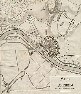 Battle of Arnhem (1813) battle of the War of the Sixth Coalition