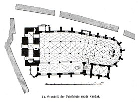 Plan Church St Petri Bautzen 100.jpg