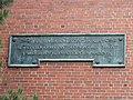 Plaque 1 on facade - Boston Latin School - DSC09904.JPG