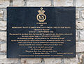 Plaque Merchant navy seamen Arromanches.jpg