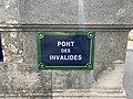 Plaque Pont Invalides - Paris VII (FR75) - 2021-08-07 - 2.jpg
