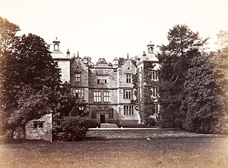 Plas Teg - Plas Teg circa 1860 when it was owned by Colonel Trevor Roper.
