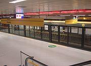 Plataforma da Estação Faria Lima
