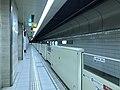 Platform of Hakozaki-Miyamae Station 3.jpg