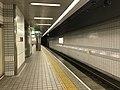 Platform of Tengachaya Station (Sakaisuji Line) 4.jpg
