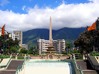 Venezuelan general strike of 2002–03 - Plaza Francia in Altamira