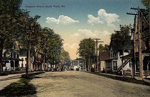 South Paris, Maine - Image: Pleasant Street, South Paris, ME