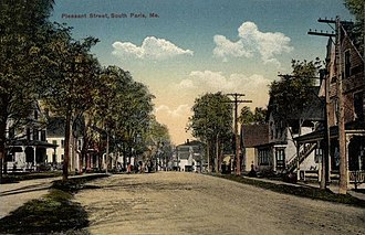 South Paris, Maine - Image: Pleasant Street, South Paris, ME