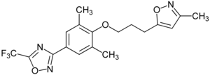 Struktur von Pleconaril