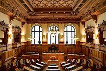 ハンブルク-政治-Plenarsaal Hamburgische Bürgerschaft IMG 6403 6404 6405 edit