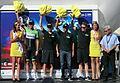 Podium Tour de l'Ain 2013 - Belkin - meilleure équipe.JPG