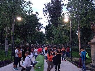 Pokémon Go - PokéStop in Alameda Central, Mexico City