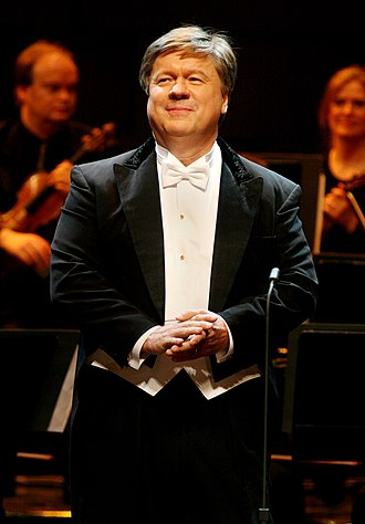 Håkan Hagegård - Hagegård performs at the 2005 Polar Music Prize ceremony.