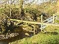 Pole and rock strata, Otterburn - geograph.org.uk - 619110.jpg