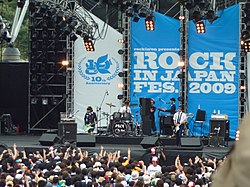 I Polysics al Rock in Japan Festival 2009