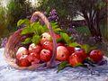 Pommes de mon jardin.JPG