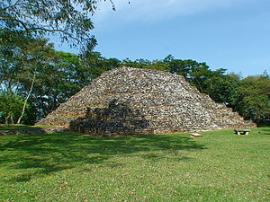 K'inich Yat Ahk II - K'inich Yat Ahk II is known to have engaged in two wars against the Maya polity Pomona (pictured).