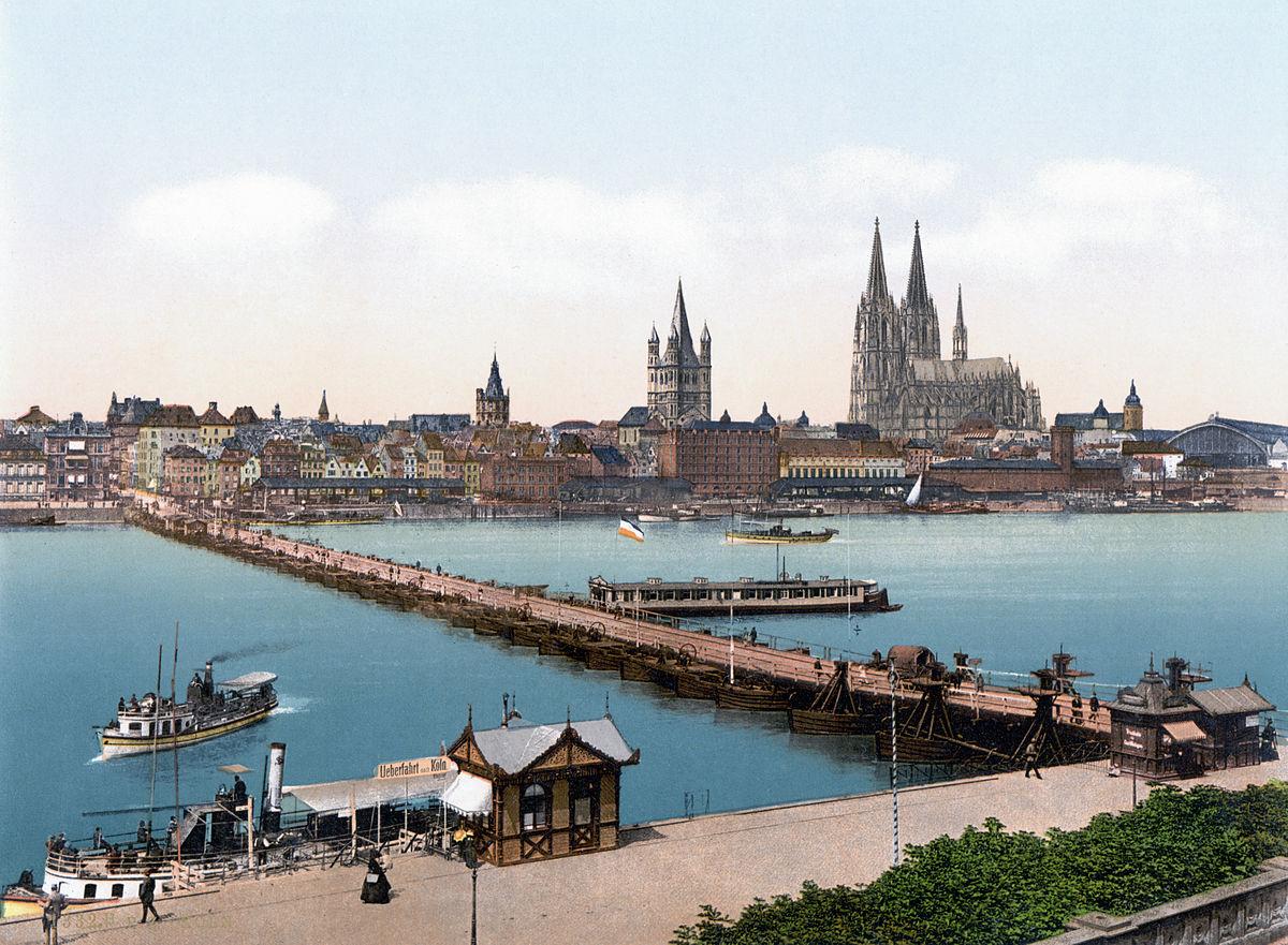Sperrung Hohenzollernbrücke Köln