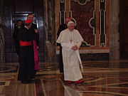 Pope Benedictus XVI january,20 2006 (5)