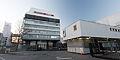 Porsche headquarters Stuttgart entrance 2013 March.jpg