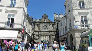 Saint-Vincent Gate - Image: Porte Saint Vincent (Vannes) (2)
